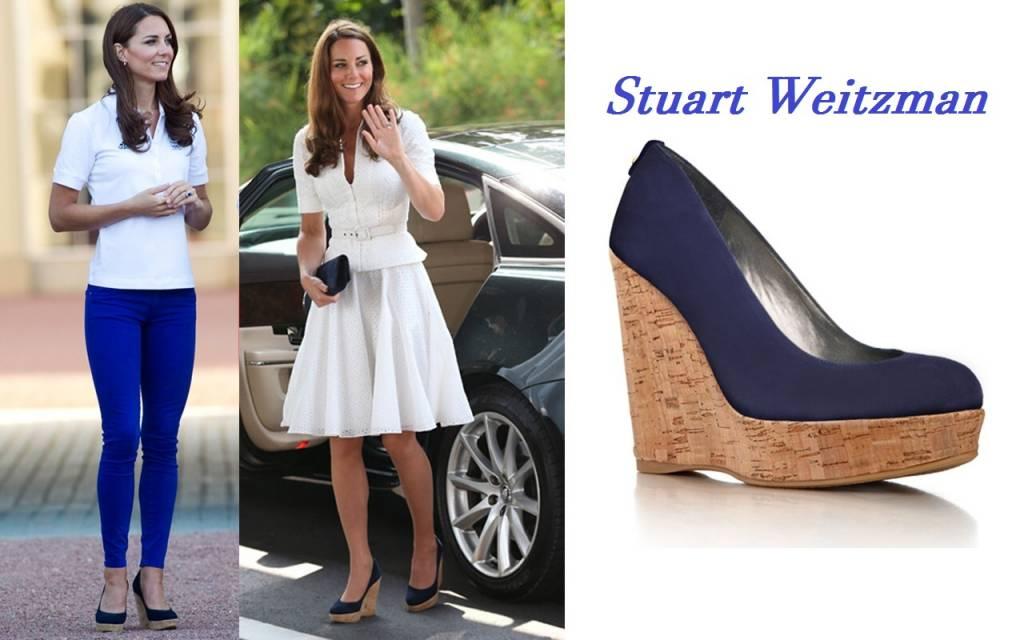 Kate Middleton: le scarpe più amate, con e senza tacchi FOTO