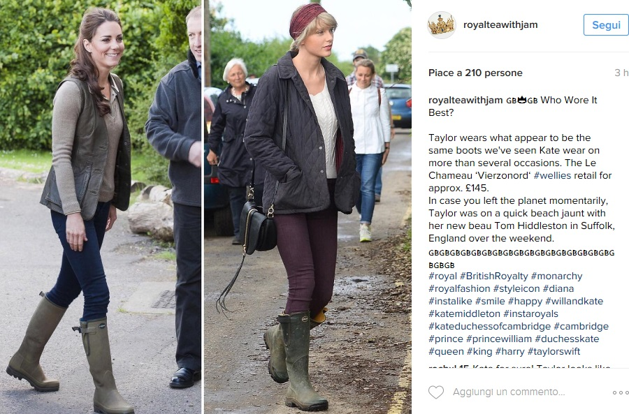 Kate Middleton, Taylor Swift: look casual a confronto FOTO