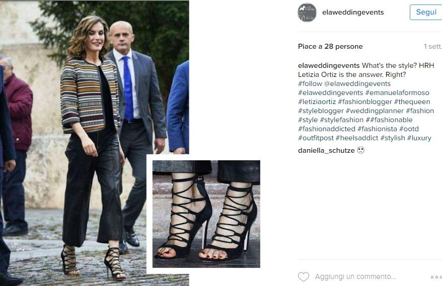 Letizia Ortiz passione tacchi: sandali estremi FOTO