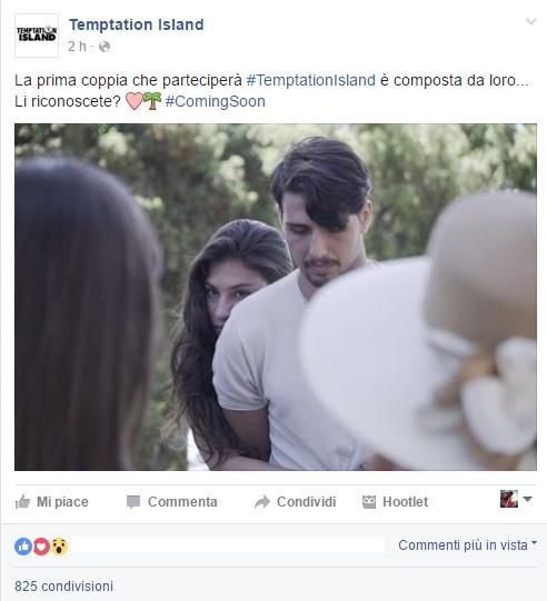Ludovica Valli e Fabio Ferrara a Temptation Island: è ufficiale