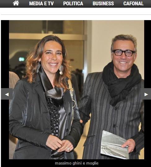 Massimo Ghini, chi è la moglie Paola Romano FOTO