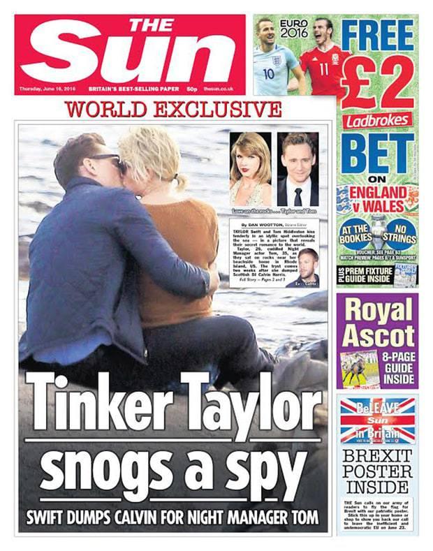 Taylor Swift, Tom Hiddleston nuovo amore? Lui è... FOTO