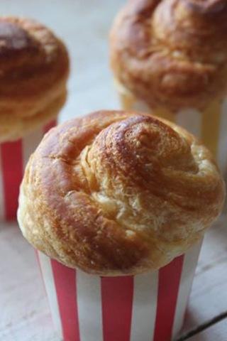 Cruffins... Ovvero un po' Croissant e un po' Muffin