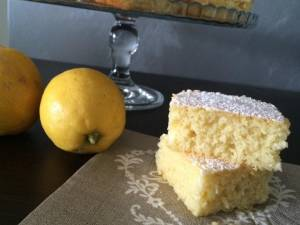Mattonella al Limone e Cocco