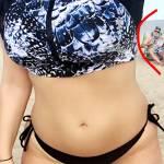 """Ashley Graham, modella """"curvy"""" mostra con orgoglio curve e smagliature3"""