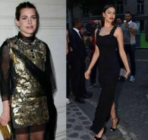 Charlotte Casiraghi, Irina Shayk: look a confronto FOTO