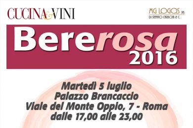 Bererosa 2016|La grande degustazione di vini e spumanti in rosa