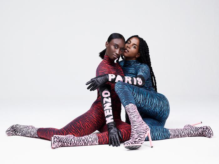 Kenzo x H&M: look tigrati nella collezione FOTO