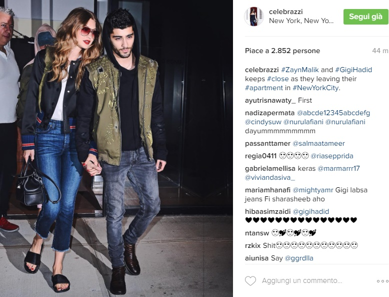 Zayn Malik, Gigi Hadid in crisi? Le FOTO provano che...