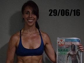 Perde 22 chili in 2 anni...e in 3 mesi scolpisce i muscoli