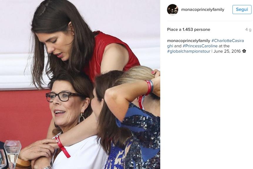Charlotte Casiraghi, Carolina di Monaco: quanto amore! FOTO