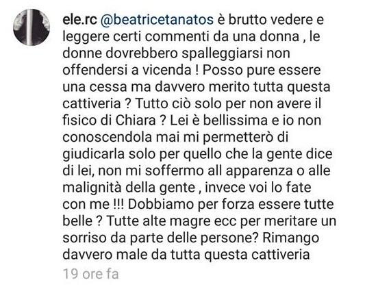 "Oscar Branzani, Eleonora Rocchini: ""Chiara Biasi è..."" FOTO"