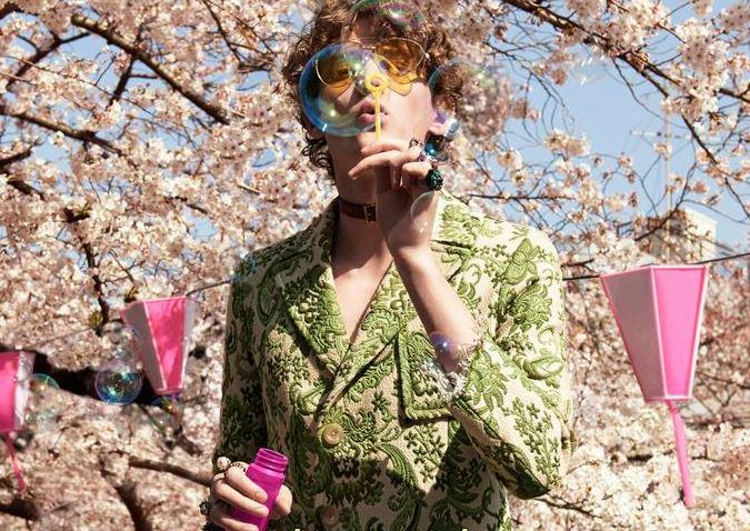 Gucci sceglie Tokyo per nuova campagna