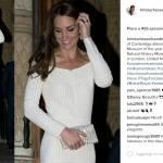 Kate Middleton splendida: abito bianco e sandali con tacco FOTO