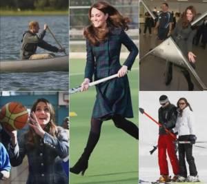 Kate Middleton, i momenti sportivi... con o senza tacchi FOTO