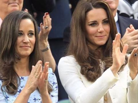 Kate Middleton e Pippa versione damigelle da bambine GUARDA