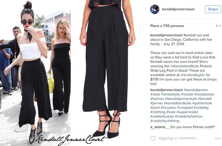 Kendall Jenner scandalosa: sotto la maglia... FOTO