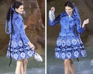 Kendall Jenner per Fendi, meravigliosa a Fontana di Trevi FOTO