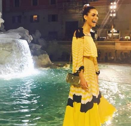 Miriam leone, Ornella Muti, Bella Thorne alla sfilata Fendi FOTO