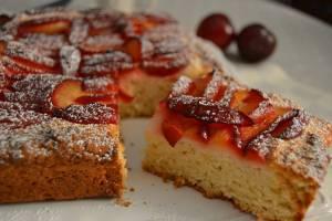 Torta Zwetschgendatschi: dolce tipico bavarese in versione light
