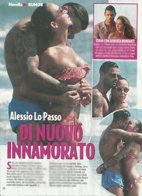 Alessio Lo Passo nuova fidanzata: è Debora! Addio Roberta... FOTO