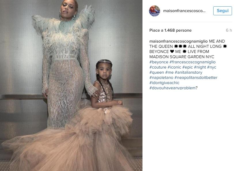 Beyoncé incanta agli MTV VMA in Francesco Scognamiglio FOTO