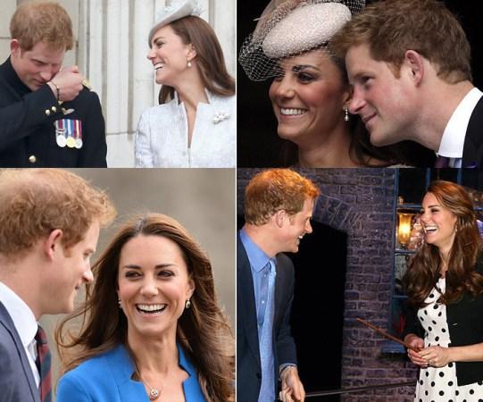 """Kate Middleton e i parenti """"eroi"""": cognato Harry in Africa per..."""