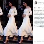 Kate Middleton, Melanie Griffith le ruba l'abito... FOTO