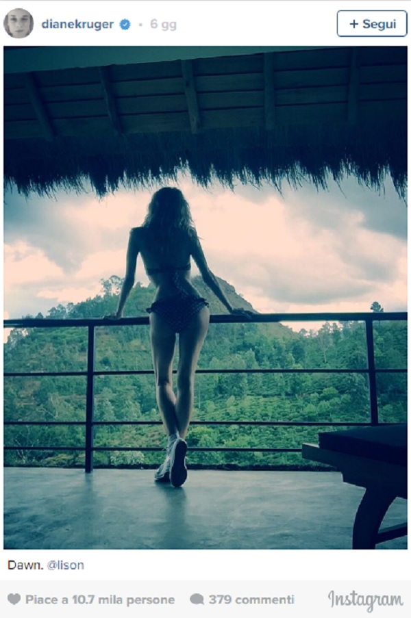 Diane Kruger troppo magra: foto preoccupa i fan