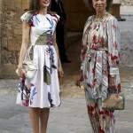 Letizia Ortiz e la Regina Sofia: complici e chic FOTO