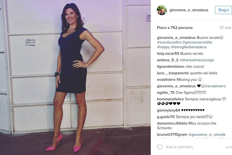 Amadeus: chi è la moglie Giovanna Civitillo FOTO