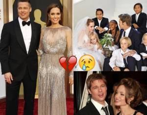 "Angelina Jolie e Brad Pitt divorziano. Parla lui: ""Sono molto..."""