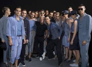 """Moda, Giorgio Armani: """"Stimolante scoprire nuovi talenti"""""""