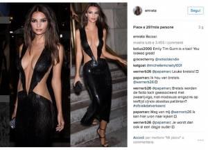 Emily Ratajkowski abito scandalo: si vede tutto 3