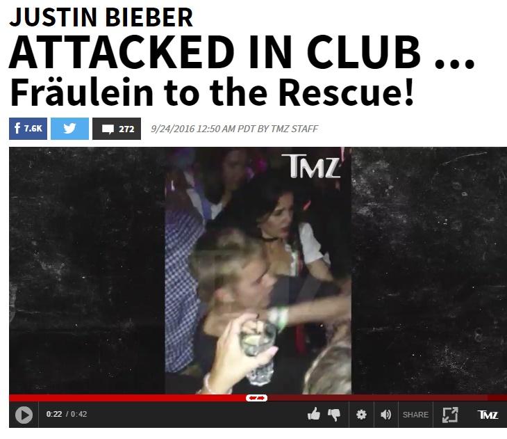 Justin Bieber, dramma in discoteca: aggredito da un fan FOTO