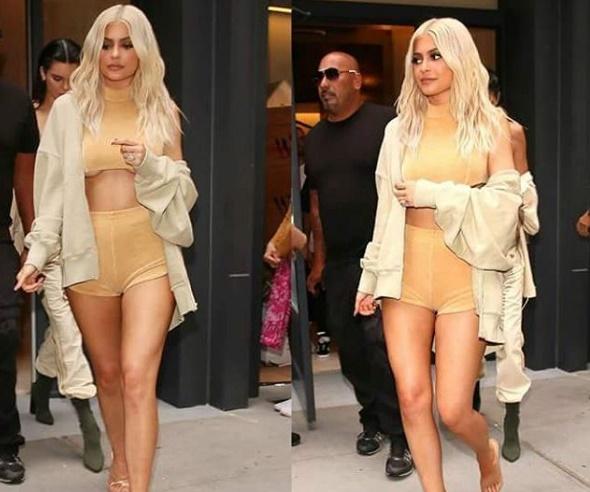 Kylie Jenner scandalosa: shorts cortissimi e top estremo FOTO