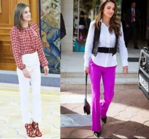 Letizia Ortiz, Rania di Giordania: mai senza tacco! FOTO