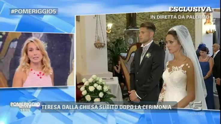 Teresa Cilia e Salvatore Di Carlo sposi: nozze a Palermo