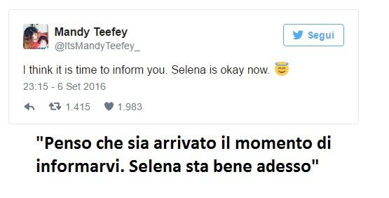 """Selena Gomez è malata? Parla la mamma: """"Vi informo che..."""" FOTO"""