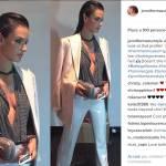 Alessandra ambrosio osa: camicia sensuale e sotto3