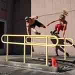 Allenamenti folli di una coppia malata di fitness00
