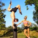 Allenamenti folli di una coppia malata di fitness2