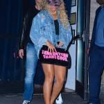 Beyonce, shorts cortissimi e gambe in vista 4