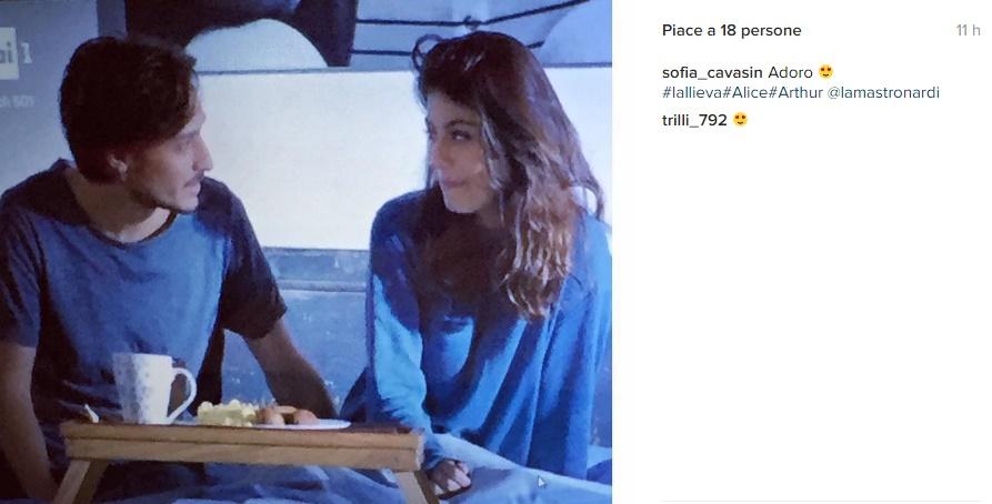 Alessandra Mastronardi: L'Allieva regina di ascolti FOTO