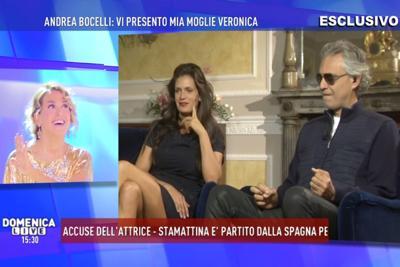 Barbara D'Urso, terribile gaffe con Andrea Bocelli: la frase che...