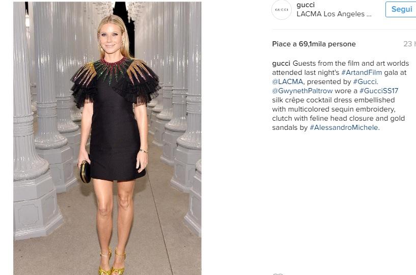 Charlotte Casiraghi, Gwyneth Paltrow: look Gucci a confronto