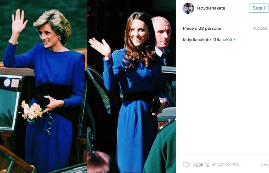 """Kate Middleton meglio di Lady D: """"Diana interessata solo.."""
