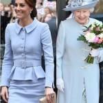 Kate Middleton, l'omaggio alla regina: quel dettaglio che... FOTO