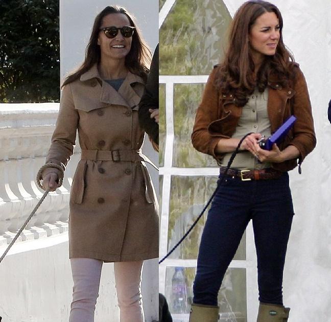 Kate Middleton, sorella Pippa casual look: chi vince? FOTO