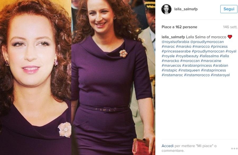Charlotte Casiraghi, Lalla Salma del Marocco: look FOTO